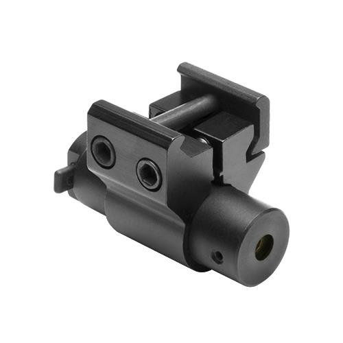 NcStar ACPRLS Compact Red Laser Sight With Weaver Mount/blac