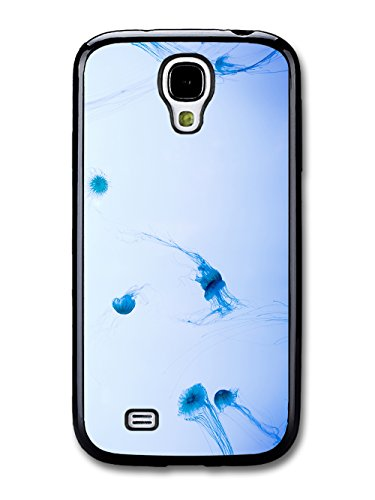 Jelly Fish Dancing In The Blue Sea In A Cool Style Design coque pour Samsung Galaxy S4