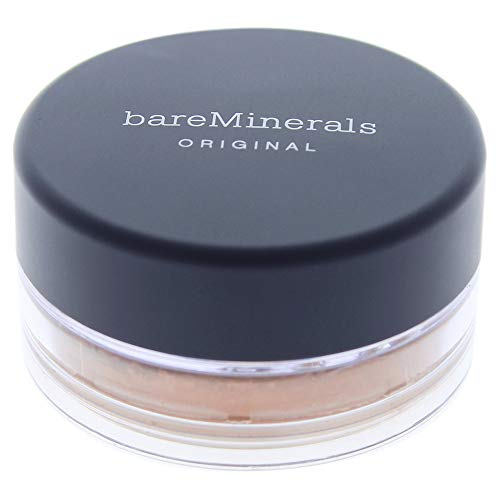 Image of bareMinerals Original Foundation SPF 15 W50 Golden Deep for Women, 0.07 Ounce