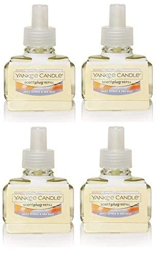 Yankee Candle Juicy Citrus and Sea Salt ScentPlug Refill 4-Pack