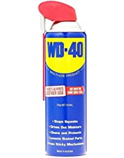 WD-40 Lubricant Multi Use Product with Smart Straw, cleans, lubricates 350g