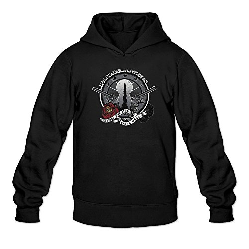 Ccyc Men's Ka-Tet Of Nineteen Stephen King Black Hoodie X-Large ()