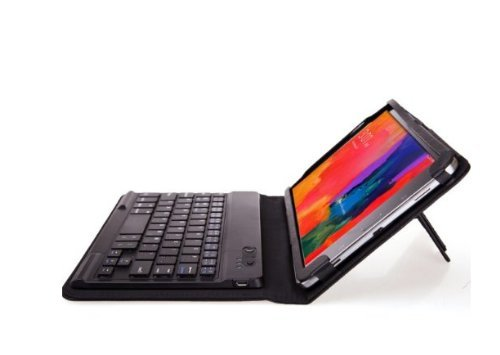 Trust 2 in 1 Removable KeyBook Bluetooth Keyboard Case fo...