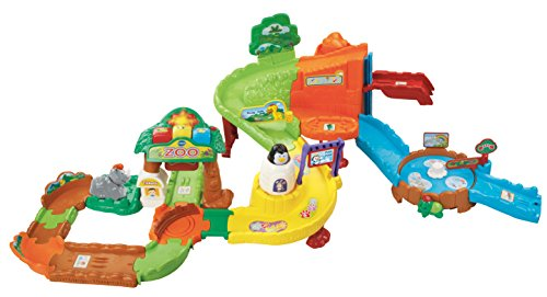 VTech Go! Go! Smart Animals Zoo Explorers Playset (Discontinued by (Zoo Animals Pull Toy)
