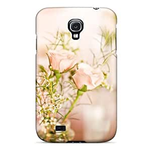 Galaxy S4 Case Slim [ultra Fit] Flower Bokeh Protective Case Cover