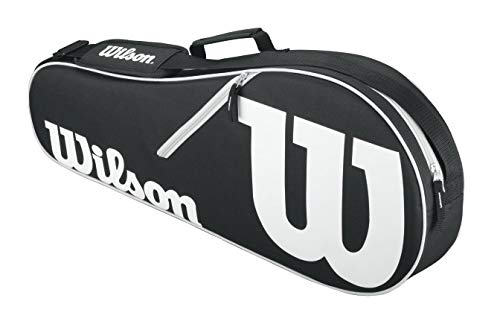 (Wilson Advantage II Tennis Bag - Black/White)