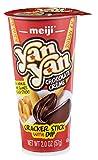 Meiji Yan Yan Dipping Sticks, Chocolate Crème