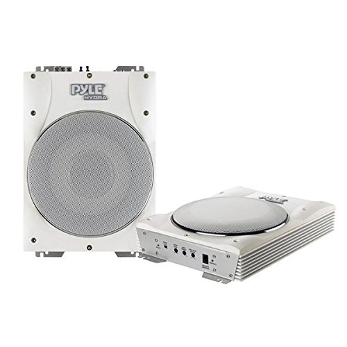 Pyle PLMRBS10 Low Profile Amplified Waterproof