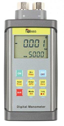 TPI 665 Dual Input Differential Manometer