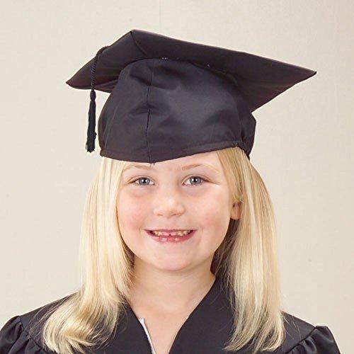 US Toy - Kids Black School Preschool Graduation Cap (Kids Graduation Hat)
