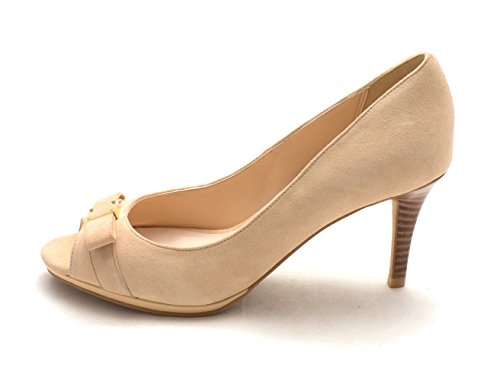 Cole Cashew Suede Pumps Classic Haan Peep Womens Toe 14A4175 SZqyHO8Swr