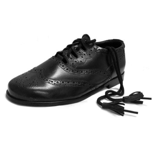 Ghillie Brogue Shoes - 8