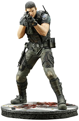 KOTOBUKIYA RESIDENT EVIL: VENDETTA CHRIS REDFIELD ARTFX - Video Figures Game Statues And