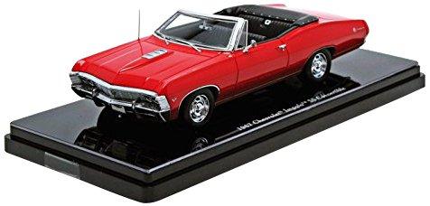 Truescale Miniatures - Tsm144322 - Véhicule Miniature - Modèle À L'échelle - Chevrolet Impala Convertible - 1967 - Echelle 1/43