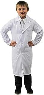 CHILDS DOCTOR FANCY DRESS COSTUME - WHITE SCIENTIST KIDS LAB COAT