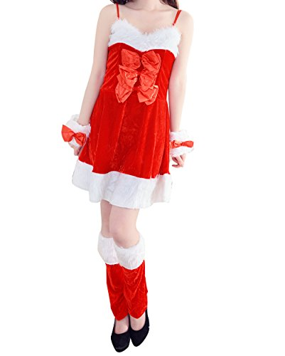 YeeATZ Cute Sexy Rabbit Ears Christmas Cosplay Costume