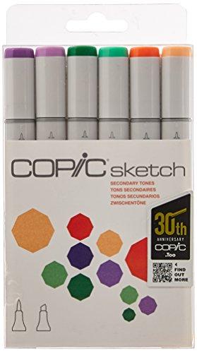 Copic Sketch Marker 6 Color Sets