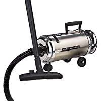 Metro Vacuum OV-4BCSF Professional 13-Amp 4-Horsepower Compact Canister Vacuum with Quadruple Hepa Filtration and Inflator Adaptor