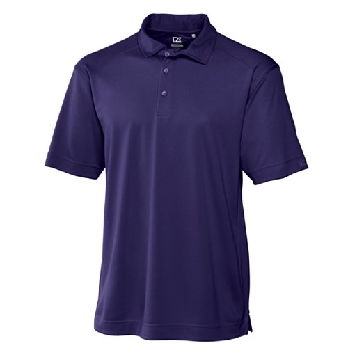 Cutter & Buck Men's Cb Drytec Genre Polo Shirt, College Purple, Medium