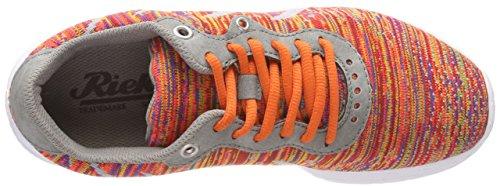 cement Rieker Multicolor multicolor N5007 Mujer Zapatillas Para TTfYnxw