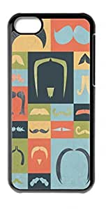 HeartCase Hard Case for Apple iPhone 5C ( Mustache Mania )