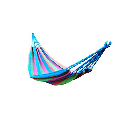 (Ammar HammocksThe Best Quality Hammocks For Backpacking Camping Survival & Travel- Portable Lightweight Super Strong NEW Designs! cotton woven texture. Max weight up to 170 Kg. Ventilation excellent)