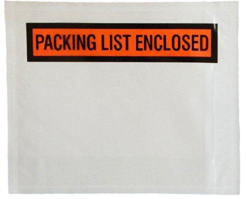 Bestselling Packing List Envelopes
