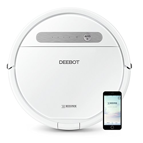 ECOVACS Deebot 610, Smart Robotic Vacuum, for Carpet, Bare Floors, Pet Hair,...