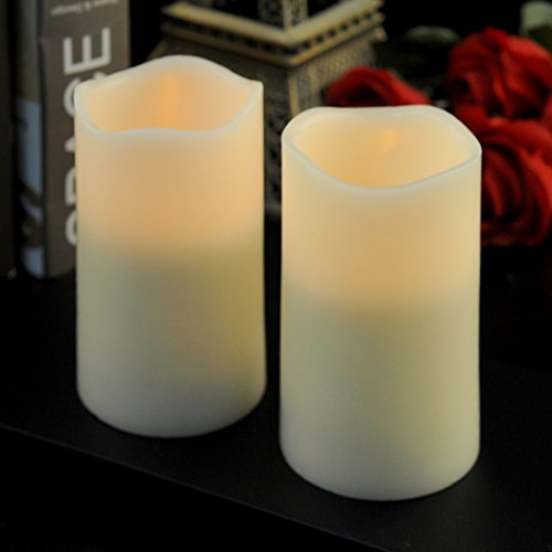 Battery Operated Candle Set - 5