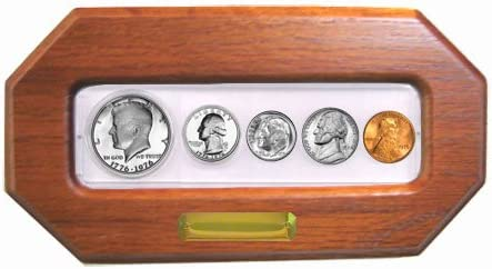 Choice Uncirculated 5 coins 1997 Birth Year Set