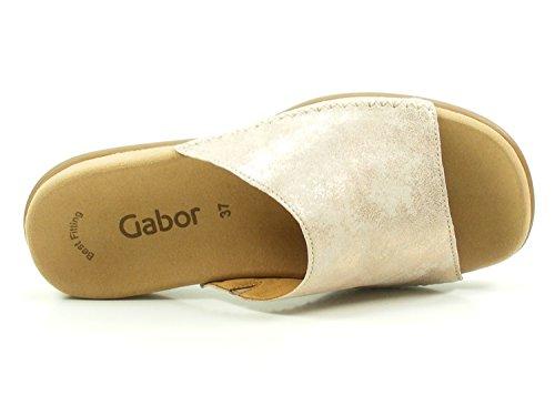 83 Damen 705 Pantoletten Rosa Gabor 01HqdW07