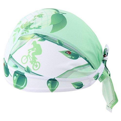 Senderismo Transpirable Diadema Hombres Sombrero Deporte Gorra Suave Verde Pirata Cabeza aire Bandana Al Bufanda Bicicleta libre qawwgHX