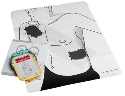 Be better prepared to help rescue a SCA victim - Philips HeartStart Home Automated External Defibrillator Adult Training Pads Kit (Automated External Defibrillator Training)