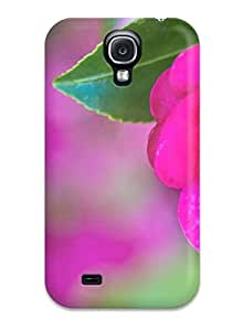 Paula S Roper Design High Quality Pretty Pink Rose In Bloom Cover Case With Excellent Style For Galaxy S4