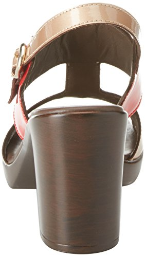 Donna Melluso Women's Strap Rame Heels Beige Ankle 6pqZnxfpw