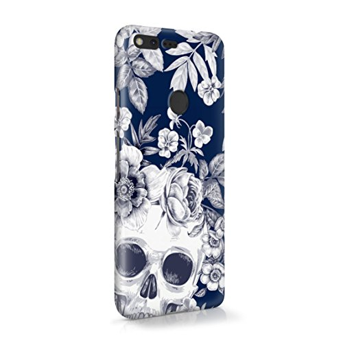 Tropical Floral Dead Pirate Skull Indie Hype Hipster Tumblr Plastic Phone Snap On Back Case Cover Shell for Google -
