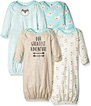 Gerber Baby-Boys 4-Pack Gown