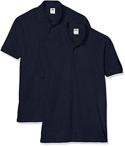 Fruit T Bleu The Of 35 Polo Pique dark 65 shirt Loom Homme Navy r0BrvSq
