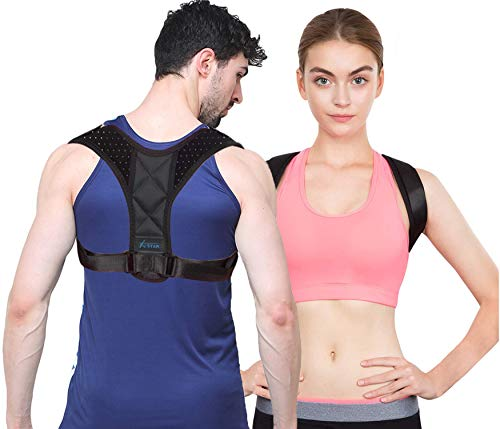 Posture Brace For Women - Effective Shoulder Back & Neck Muscle Pain Reliever - bodywellness posture corrector for women - Comfortable Adjustable Back Posture Corrector For Women Back & Spinal Support