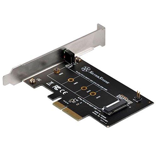 (SilverStone Technology M2 to M Key PCI-E X4 Card ECM21)