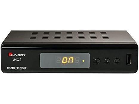 Univision UNC2 Receptor de televisión por Cable (Full-HD, HDMI, Euroconector,