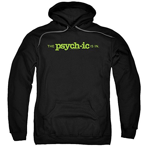 Psych Detective Comedy Drama TV USA The Psychic Is In Adult Pull-Over Hoodie