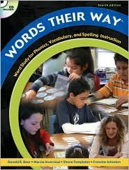 Words Their Way 4th (fourth) edition Text Only