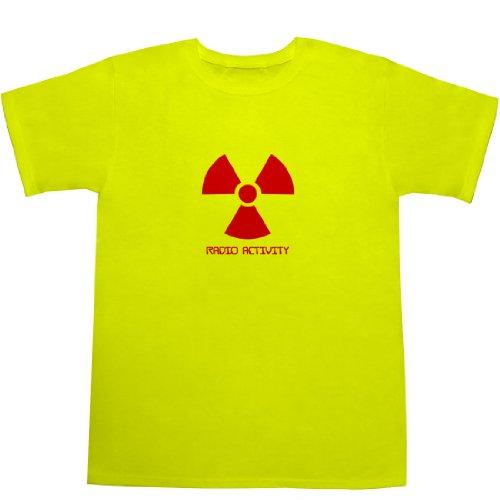 曲線グラディス盲目RADIO ACTIVITY Tシャツ