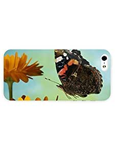 3d Full Wrap Case for iPhone ipod touch4 Animal Butterfly And Flowers
