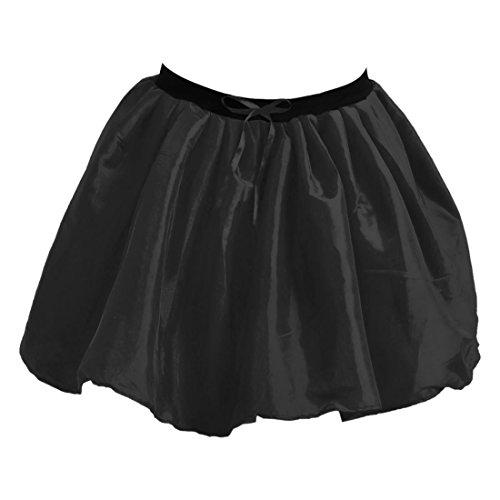 Unique Taille Noir Noir Femme Jupe Janisramone Uni IwTqRAgXn