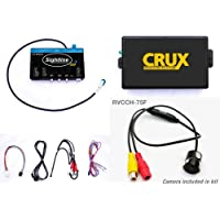 Crux RVCCH-75F Rear-View Integration for Chrysler & Dodge Vehicles with 4.3 Uconnect Systems 2011-U
