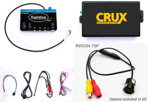 Crux RVCCH-75F Rear-View Integration for Chrysler & Dodge Vehicles with 4.3'' Uconnect Systems 2011-U