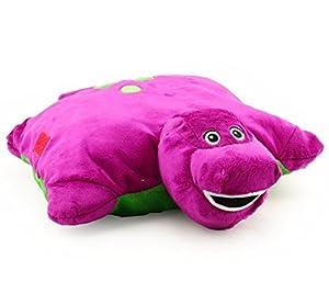 Amazon Com Barney The Dinosaur X Plush Pillow Friend Doll