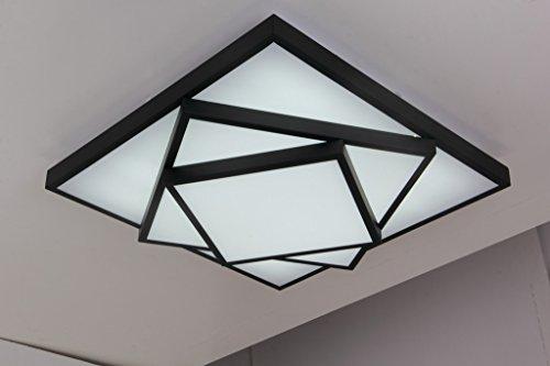 Electro Bp Modern Simple Metal Art Ceiling Light Geometric Led Flush Mount Light Max 36w With